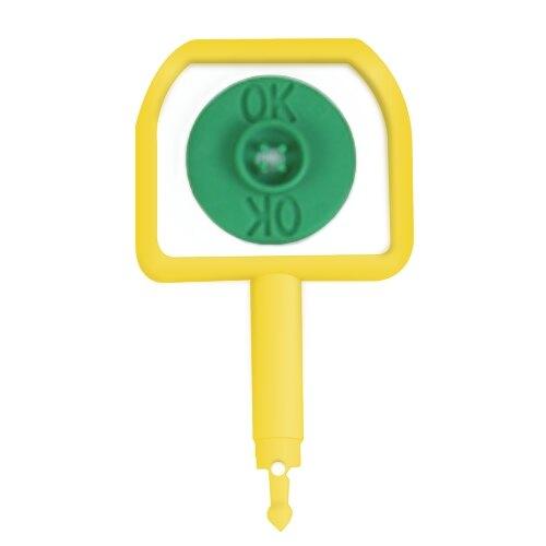 Chubb Pin and OK indicator