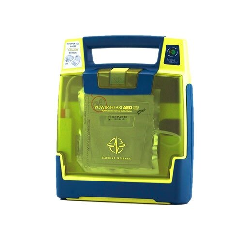 Powerheart AED G3 Pro with non-rechargeable lithium battery