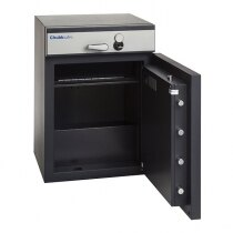 The ProGuard deposit safe is ideal for storing cash and valuables