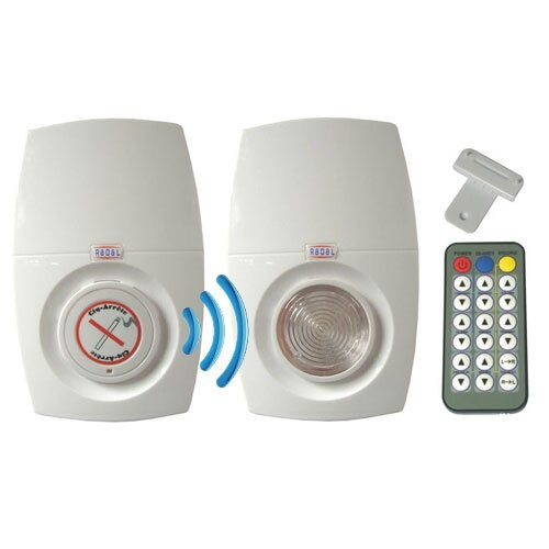 Cig-Arrête SD Evolution Smoke Detector and Flasher/Sounder Kit - Wireless