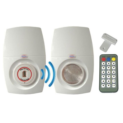 Cig-Arrête SD Evolution Combi Flame & Smoke Detector Flasher/Sounder Kit - Wireless