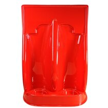 Universal Economy Fire Extinguisher Stand - Double