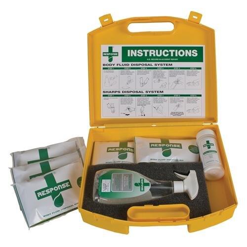 Body Fluid Disposal Kit for Bulk Spillages
