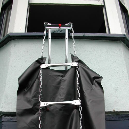 The Rollo roll-out ladder is ideal for Dormer windows