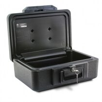 Sentry 1100 fireproof box open