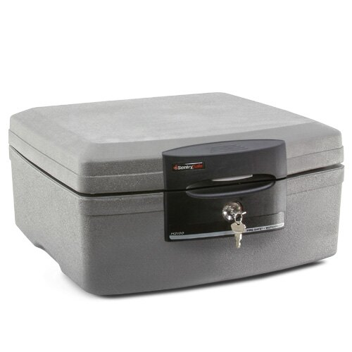 Sentry H2100 fire and waterproof document box