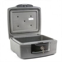 Sentry H2100 fire and waterproof document box internal view