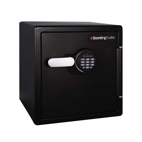 Sentry SFW123FTC - Fire and Waterproof Safe offering 60 minutes of fire protection