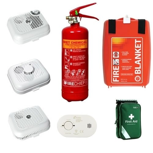 Fire safety kits for home physical map of united states for Fire prevention tips for home