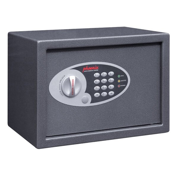 Phoenix Vela 0802E - Security Safe with Electronic Lock