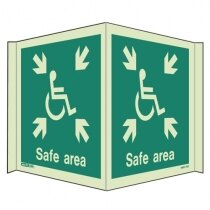 Panoramic Photoluminescent Safety Signs