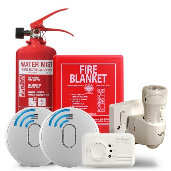 Safelincs Holiday Cottage Safety Kit with RF