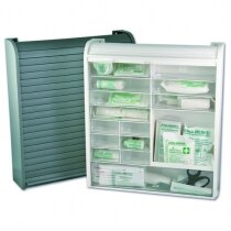 Leina First Aid Cabinet with Roller Blind