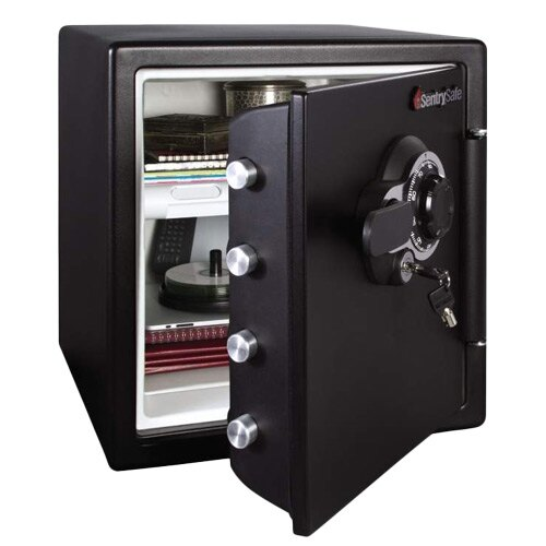 Sentry Sfw123dtb Fire And Waterproof Safe With