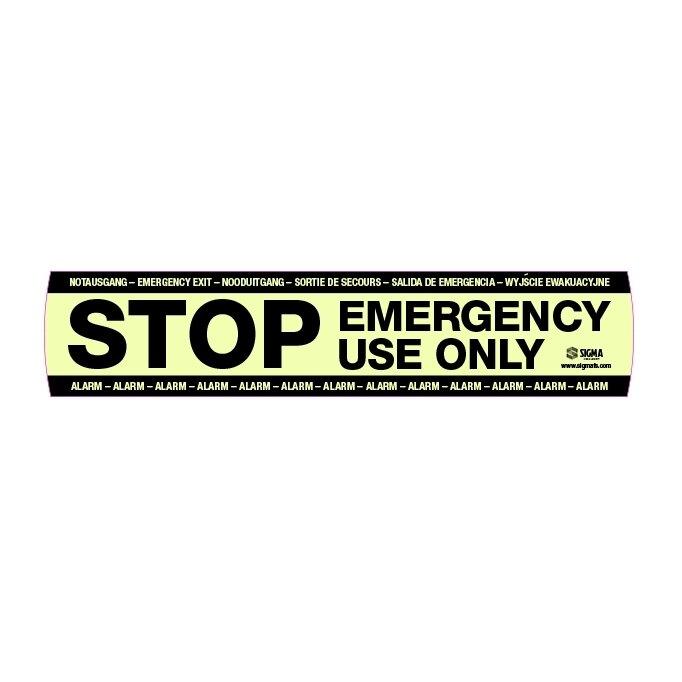 Smart+Shield STOP Sticker