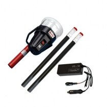 The Solo 461 cordless heat detector tester double battery kit