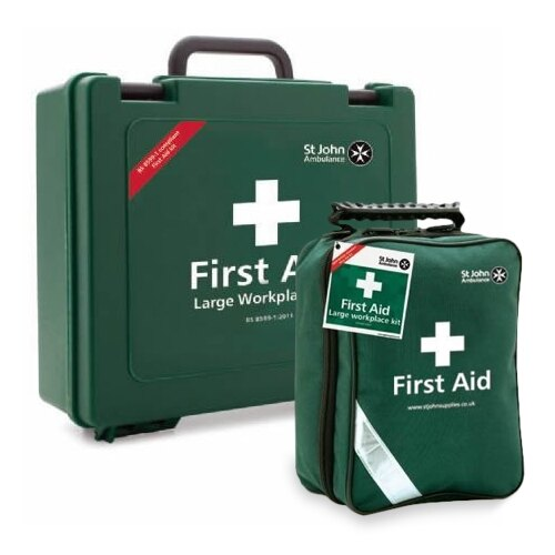 St John Ambulance BS 8599-1 Compliant Travel First Aid Kits
