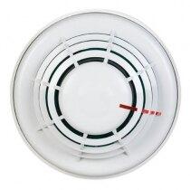 The Veritas 2 optical smoke detector has a durable ABS construction