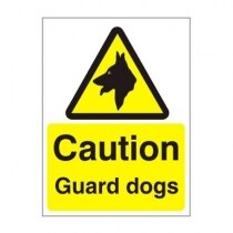 Warning and Danger Signs - Caution, Guard Dogs