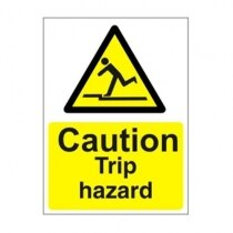 Warning and Danger Signs - Caution, Trip Hazard