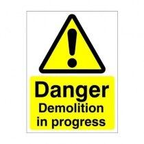 Warning and Danger Signs - Danger, Demolition