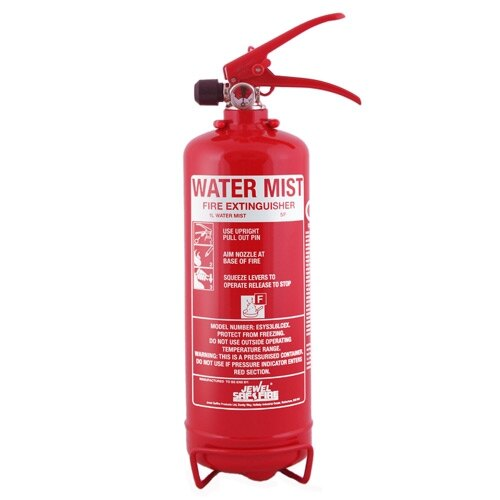 Water Mist Fire Extinguishers uk 1ltr Water Mist Fire