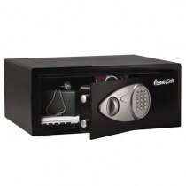 The Sentry X075 security safe is suitable for most laptops