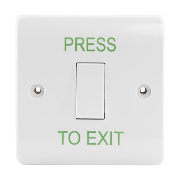 "Clear ""PRESS TO EXIT"" text"