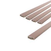 10 x 4mm Brown Single Door Fire Seal Pack