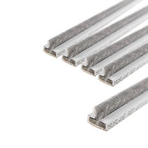 10 x 4mm White Single Door Fire & Smoke Seal Pack