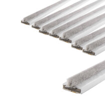15 x 4mm White Double DoorFire and Smoke Seal Pack