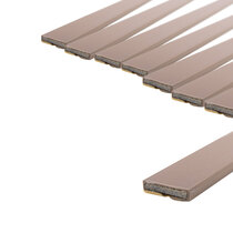 15 x 4mm Brown Double Door Fire Seal Pack