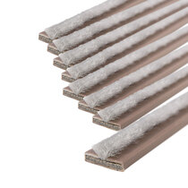 20 x 4mm Brown Double Door Fire & Smoke Seal Pack