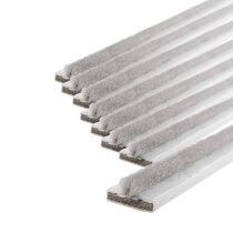 20 x 4mm White Double Door Fire & Smoke Seal Pack