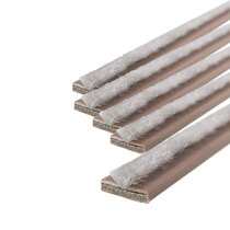 20 x 4mm Brown Single Door Fire & Smoke Seal Pack