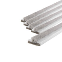 20 x 4mm White Single Door Fire & Smoke Seal Pack