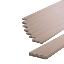 25 x 4mm Brown Double Door Fire Seal Pack