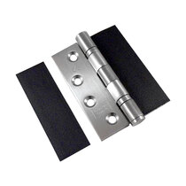 Measuring 30 x 100 x 0.8mm, these pads fit the majority of fire rated hinges with minimal rebating