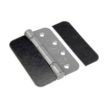 Available with pre-rounded corners to match your desired style of hinge
