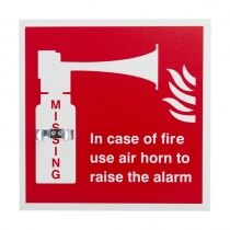 Emergency Air Horn Bracket