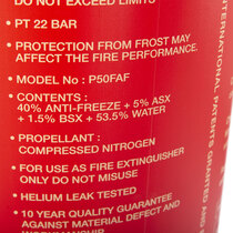 P50 6ltr Foam w/ Anti-Freeze (w/sign, survey, install)