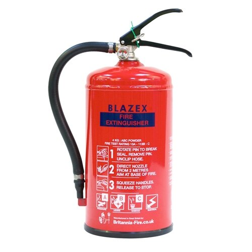 4kg Powder Fire Extinguisher - Britannia