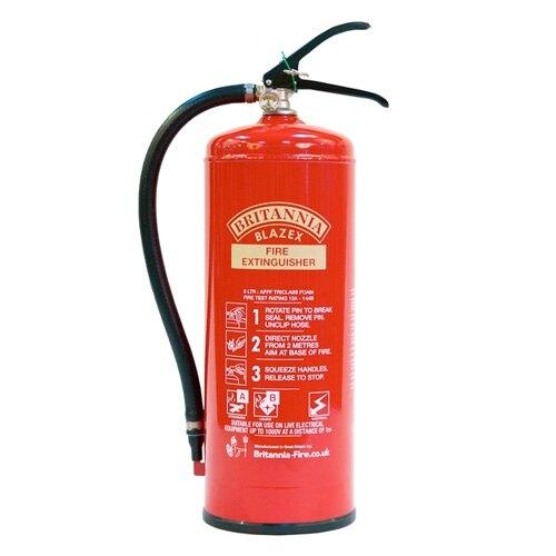 6ltr Foam Fire Extinguisher - Britannia