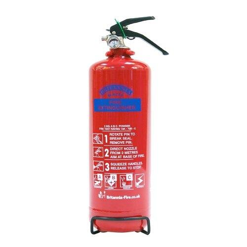 2kg Powder Fire Extinguisher - Britannia