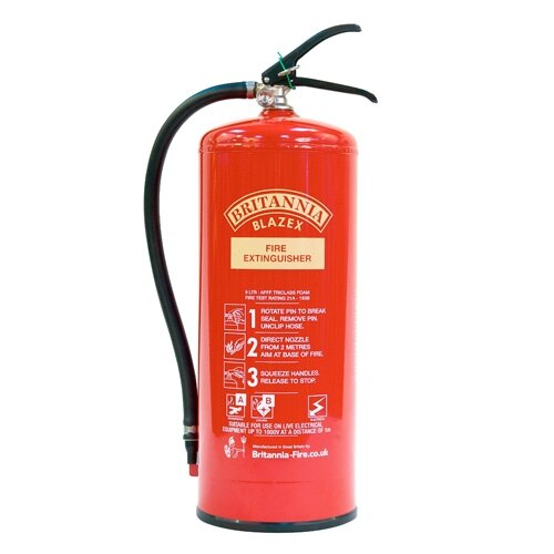 9ltr Foam Fire Extinguisher - Britannia