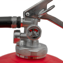 Nickel-plated brass head assembly with double pressure gauge system built-in