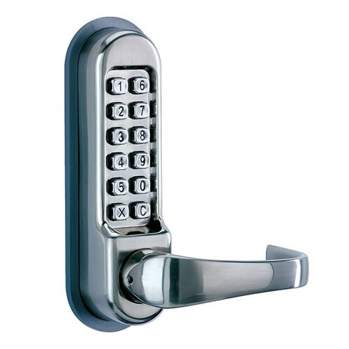 Briton Mechanical Code Lock Outside Access Device