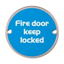 Metal Fire Door Signs