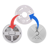 Replacement for BRK 660MBX and 670MBX mains powered smoke alarms
