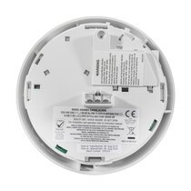 Alarm head fits directly onto your existing base - no electrician needed
